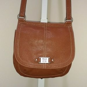 RELIC CROSSBODY BAG WITH FRONT FLAP